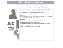 Tablet Preview of abcskoedekontoret.dk
